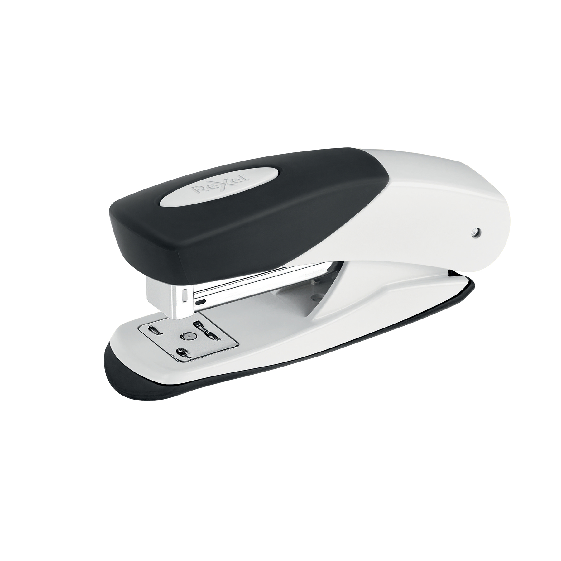 Staplers Rexel Matador Half Strip Stapler Throat 50mm White Ref 2115687