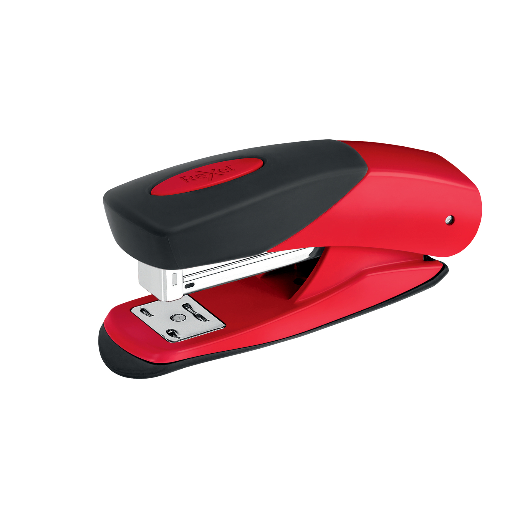 Rexel Matador Half Strip Stapler Throat 50mm Red Ref 2115688