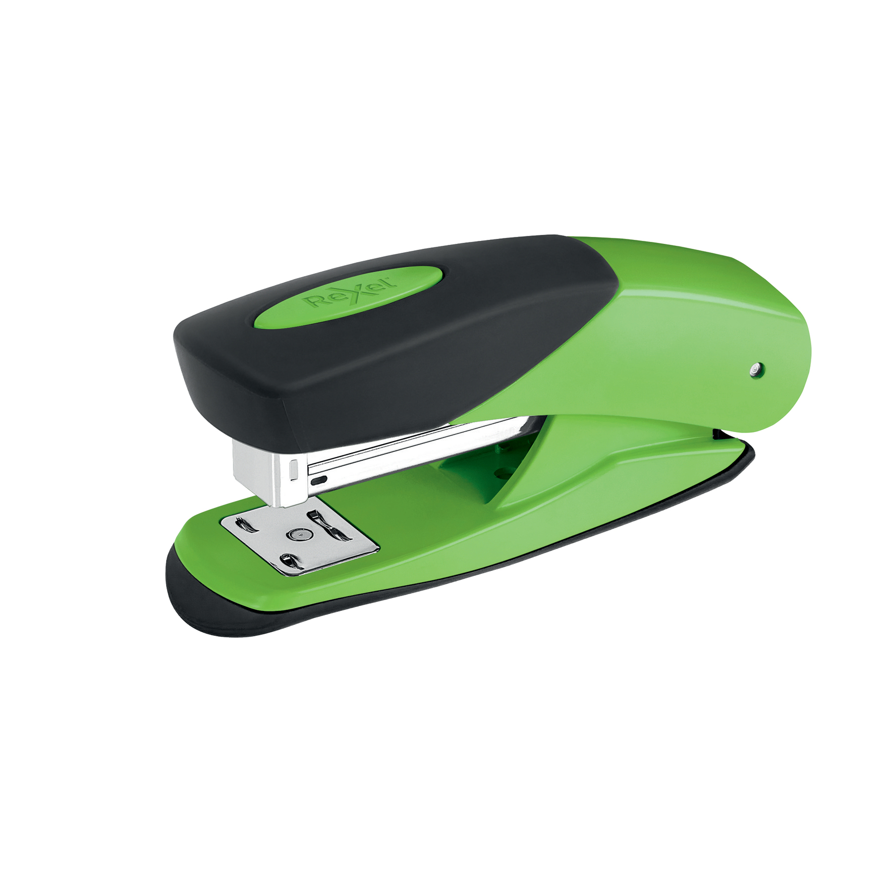 Staplers Rexel Matador Half Strip Stapler Throat 50mm Green Ref 2115687