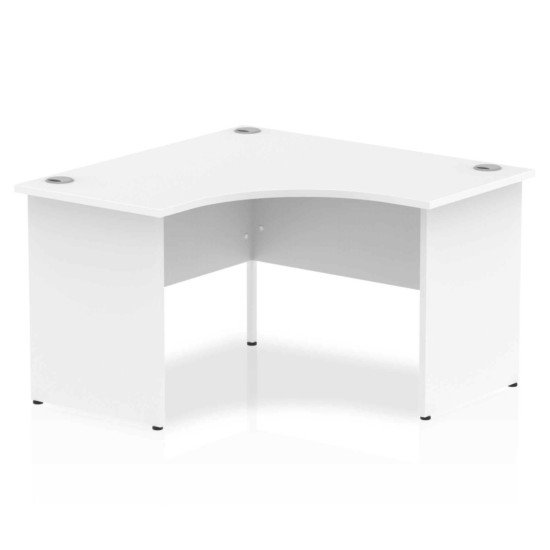 Desks Trexus Call Centre Desk Panel End 1200x1200mm White Ref I000406