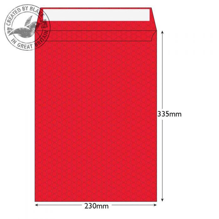 Purely Packaging Envelope P&S 335x230mm Bubble Envolite Black Ref KRD335 Pk 100 *10 Day Leadtime*