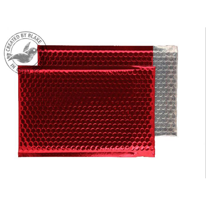 Purely Packaging Padded Envelope P&S C5+ Metallic Red Ref MBR250 [Pk 100] *10 Day Leadtime*
