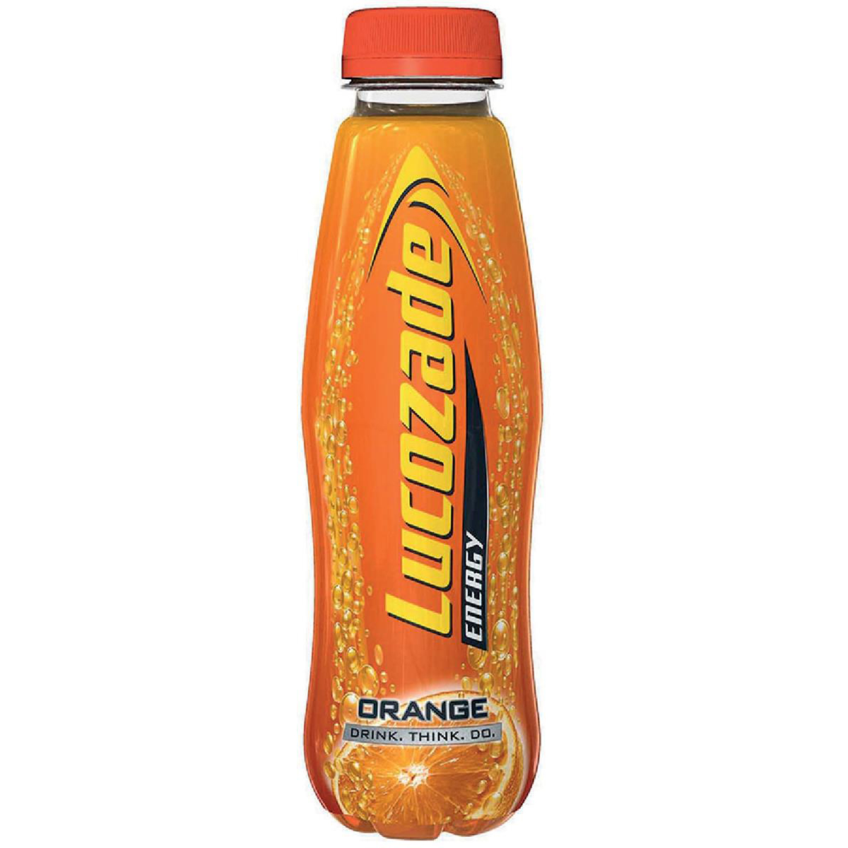 Lucozade Orange Soft Drink Bottle 380ml Ref 40016 Pack 24