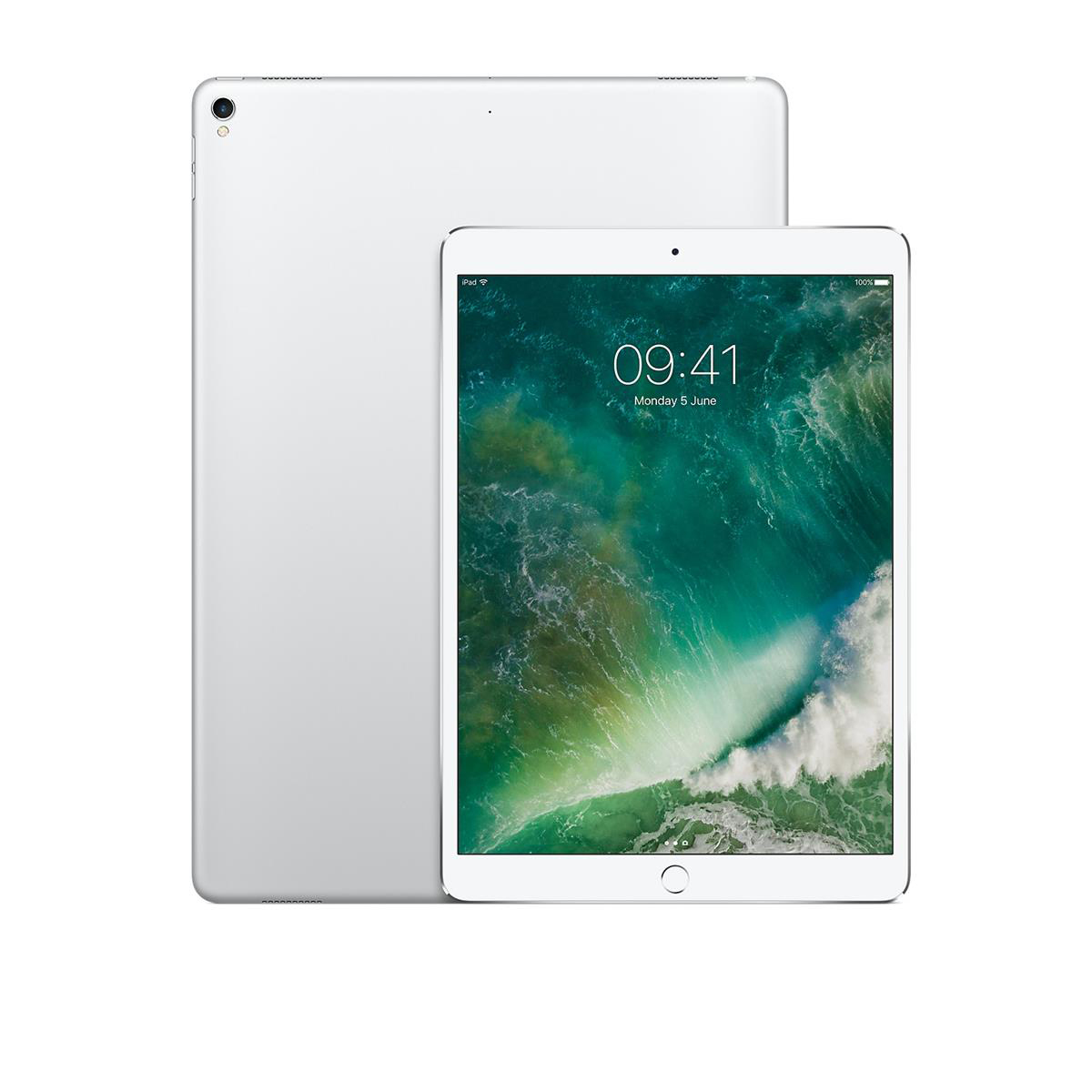 Apple iPad Pro A10X Processor Wi-Fi 64GB 10.5in Retina Display ID Finger Sensor Silver Ref MQDW2B/A