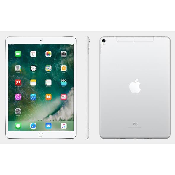 Apple iPad Pro A10X Processor Wi-Fi 64GB 10.5in Retina Display ID Finger Sensor Silver Ref MQDW2B/A