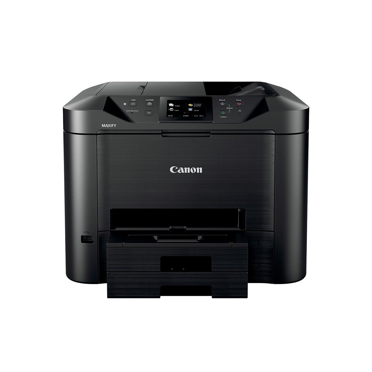 Canon MAXIFY MB5455 A4 Colour Inkjet Multifunction Printer Ref 0971C028AA