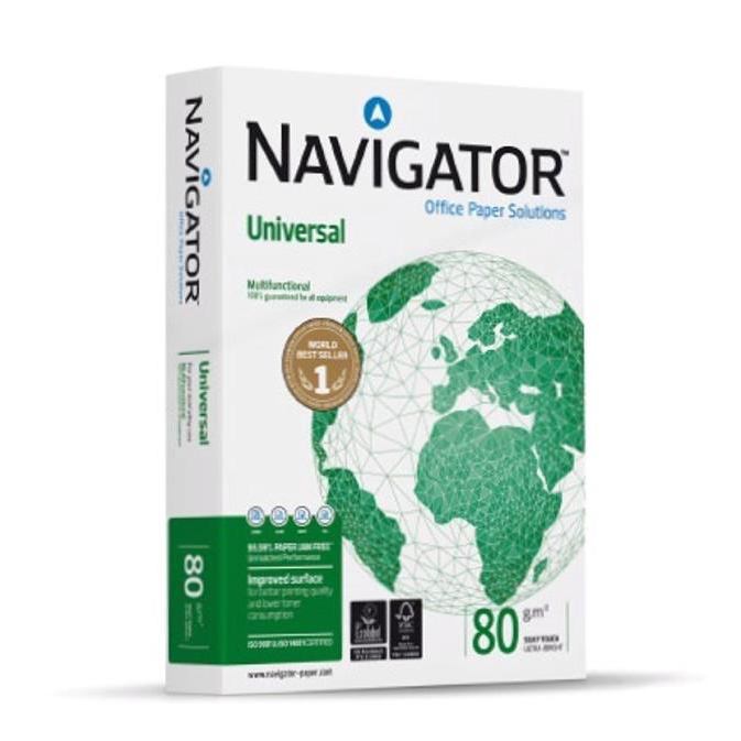 Navigator Universal Paper FSC A4 80gsm 200 Ream Pallet Ref 144979
