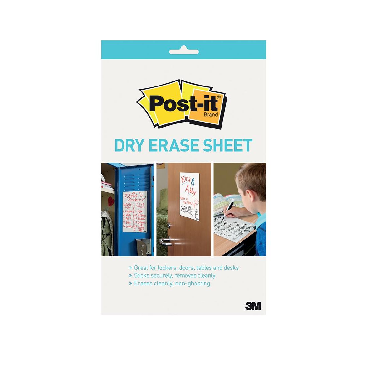Post-it Super Sticky Dry Erase Sheets Self-adhesive 279x390mm White Ref DEFPackL-EU [15 Sheets]