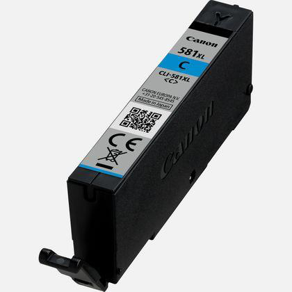 Canon CLI-581XL Inkjet Cartridge High Yield Page Life 515pp 8.3ml Cyan Ref 2049C001