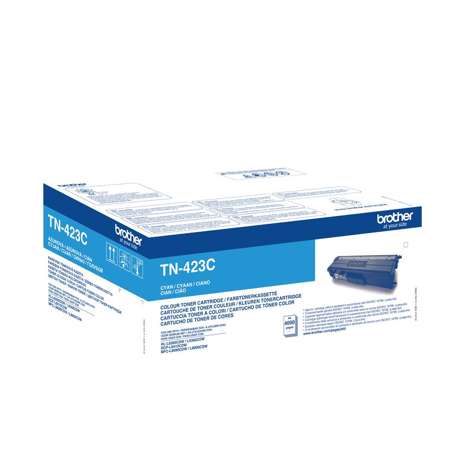 Brother TN423C Laser Toner Cartridge High Yield Page Life 6000pp Cyan Ref TN423C