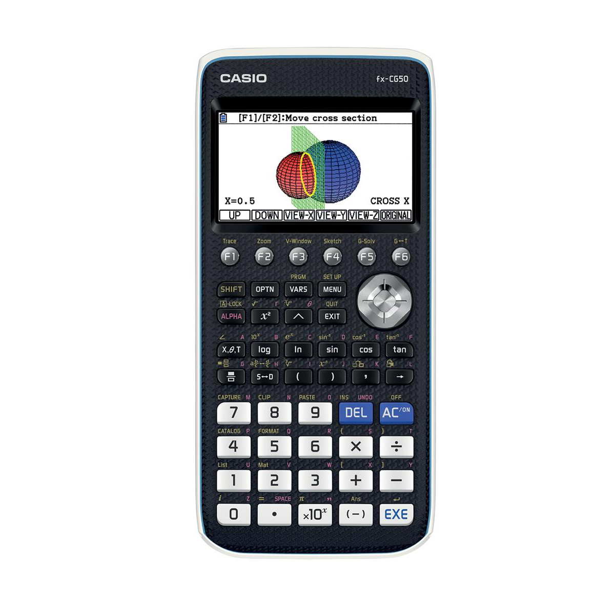 Casio Graphic Calculator Natural Textbook Display with USB 93x27x200mm Black Ref FX-CG50
