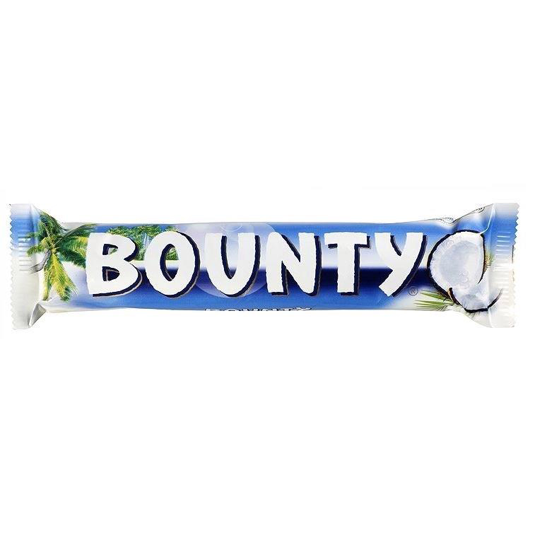 Bounty Milk Chocolate Double Bars Ref 105230 [Pack 24]