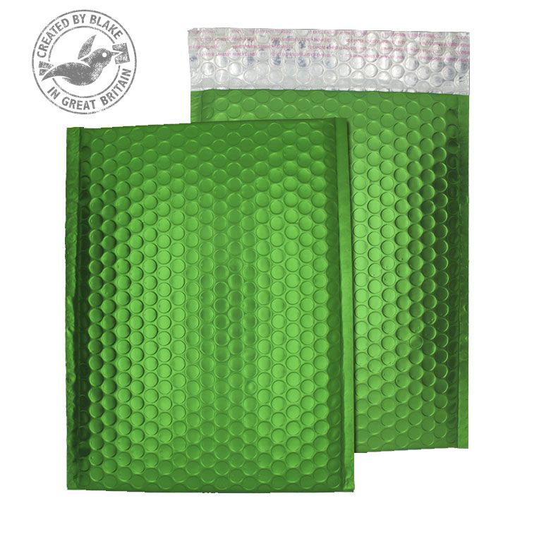 Purely Packaging Bubble Envelope P&S C4 Beetle Green Ref MTGRE324 [Pack 100] *10 Day Leadtime*