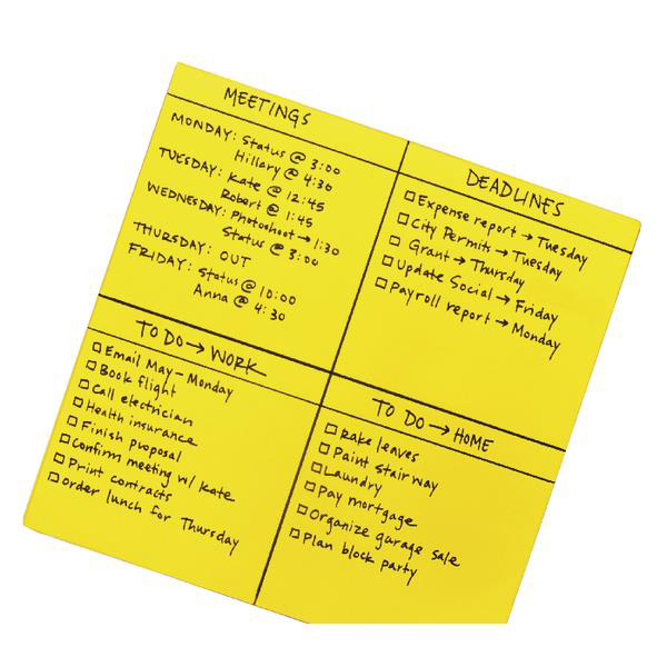 Post-it Super Sticky Dry Erase Sheets Self-adhesive 558x558mm Green Ref BN22-EU [30 Sheets]