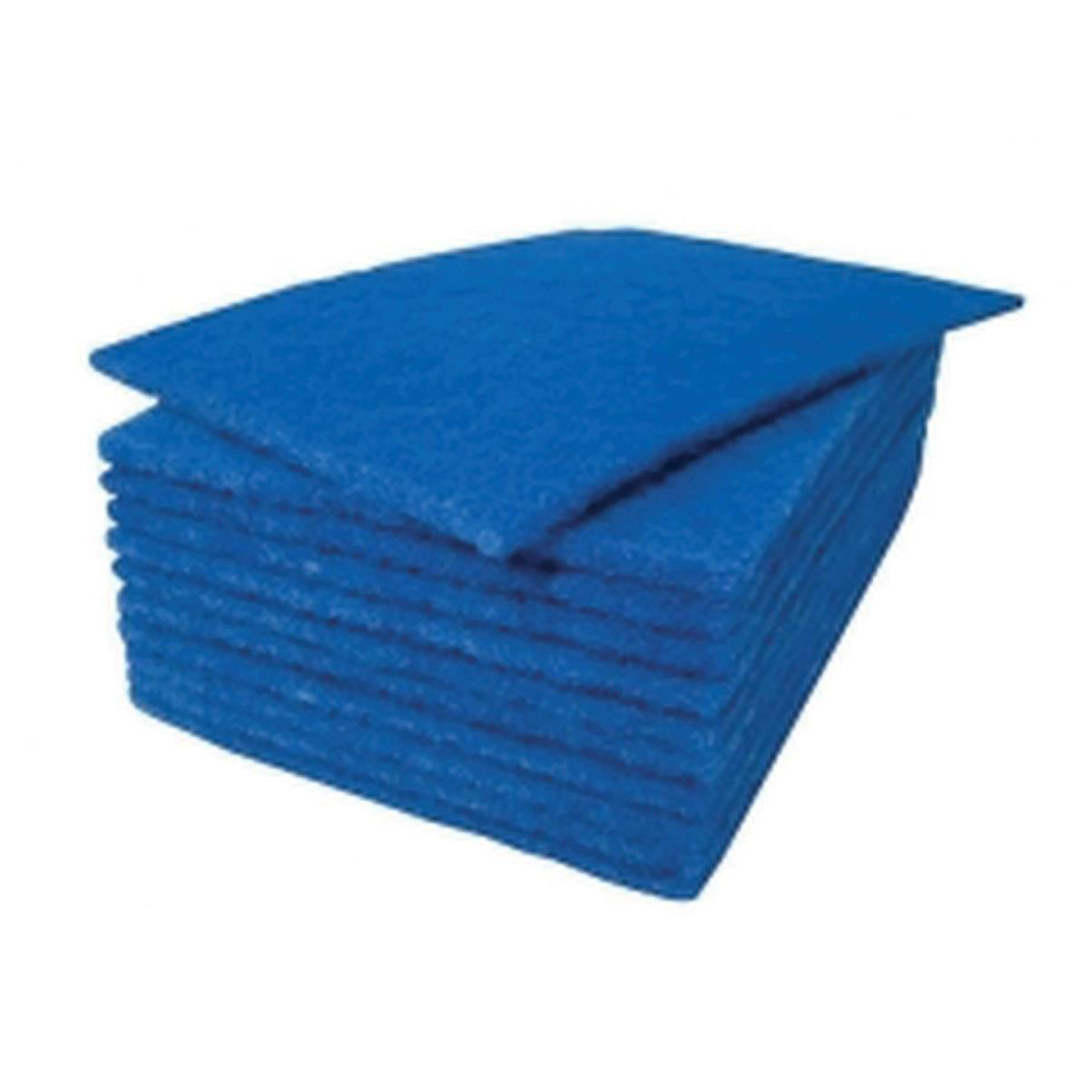 Scouring Pad Blue 9x6in Pack 20