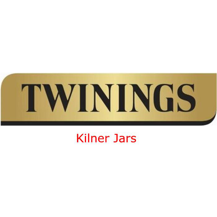 Twinings Kilner Jars with Pre-printed Labels Ref 0403299 [Pack 3]