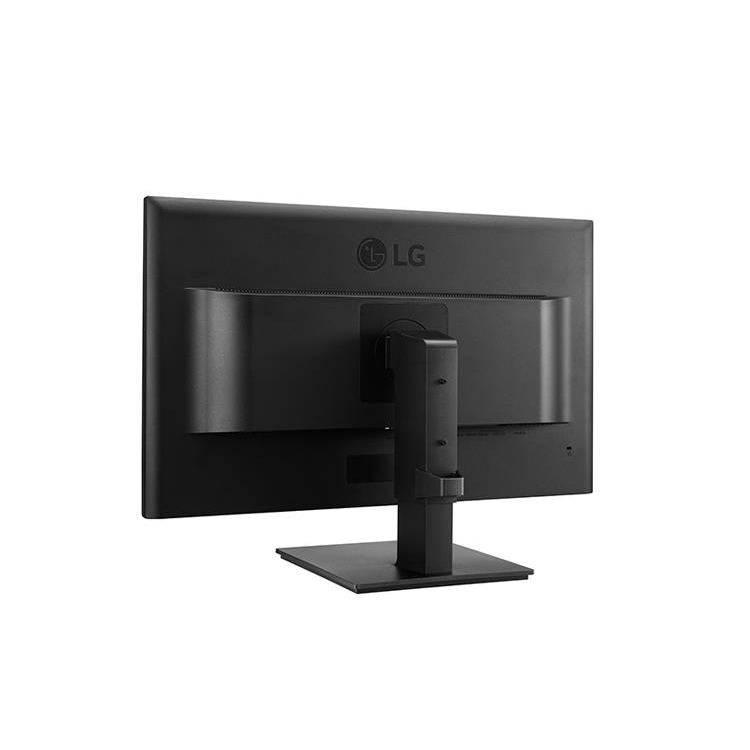 LG IPS Dual Full HD LCD Widescreen Monitor with Stand 24in Screen 553.8x240x512.9mm Black Ref 24BK550Y-B