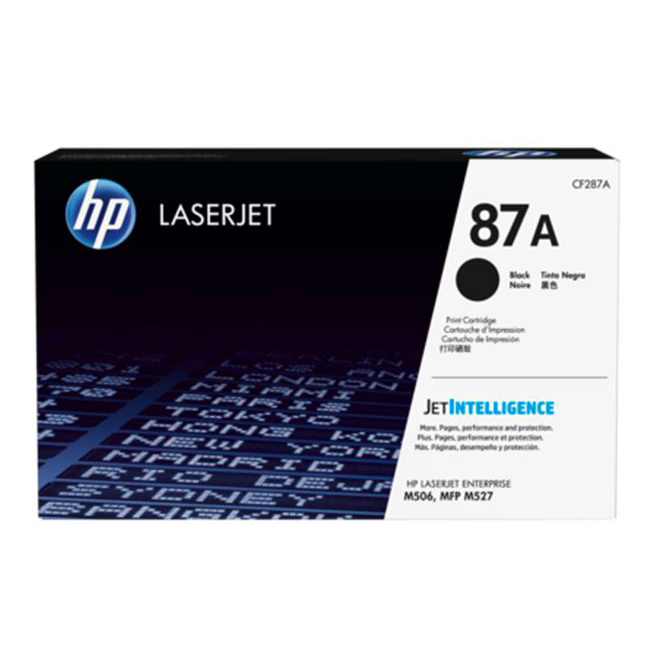 Hewlett Packard [HP] No. 87A Toner Cartridge Page Life 9000pp Black Ref CF287A