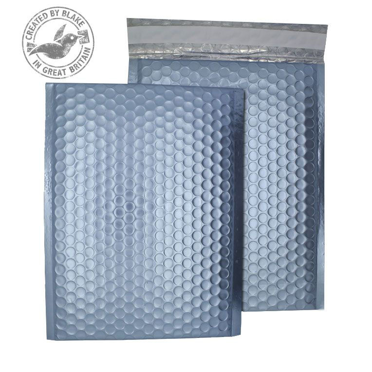 Purely Packaging Bubble Envelope P&S C5+ Metallic IceBlue Ref MTIB250 [Pk 100] 10 Day Leadtime