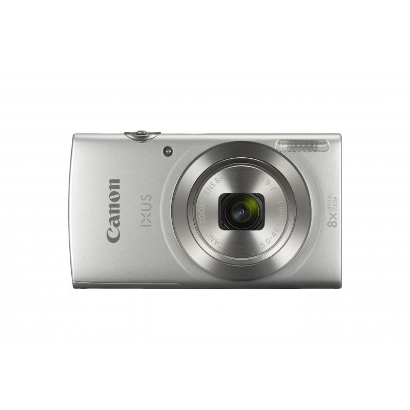 Image for Canon IXUS 185 Camera Kit 20MP 16x Zoom Plus Full HD Movies Case & 32GB SD Card Silver Ref CAN2969