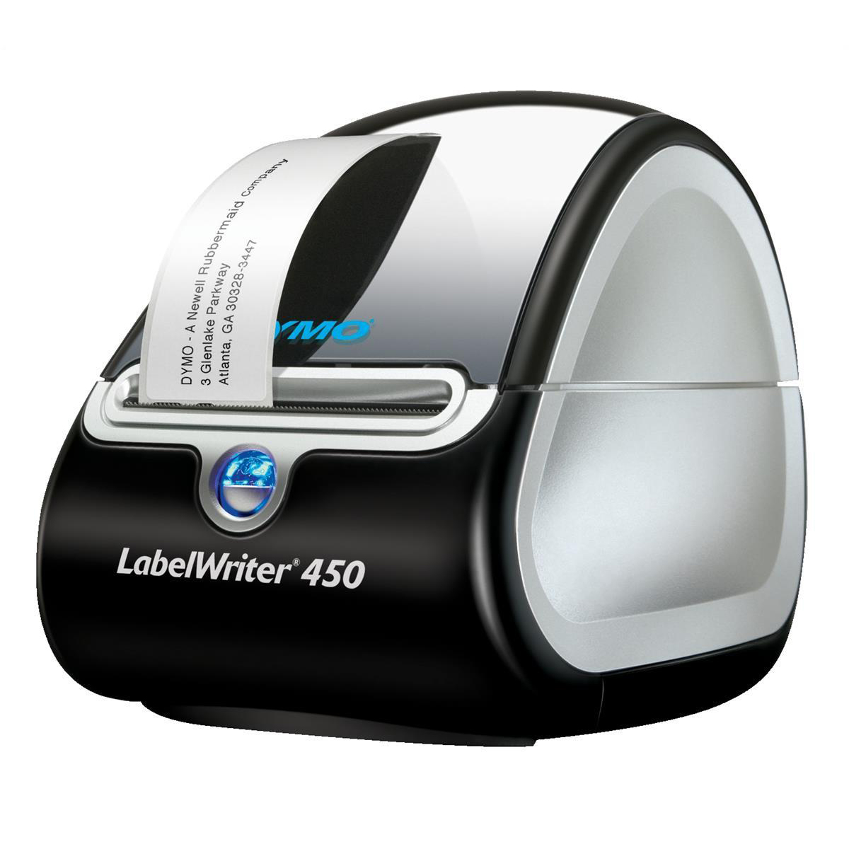 Labelling Machines Dymo Labelwriter 450 USB 51 Labels per Minute for 13 Labels 600Dpi Ref S0838810