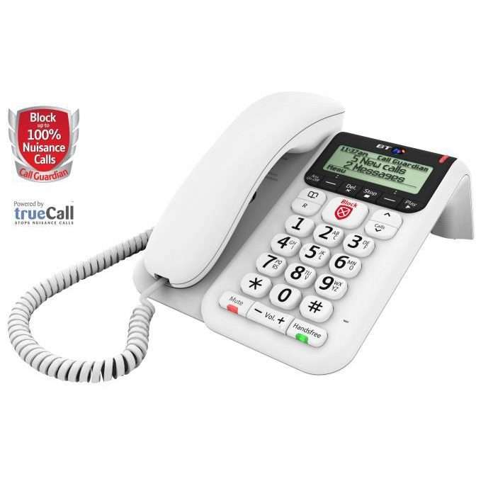 BT Decor 2600 Telephone White
