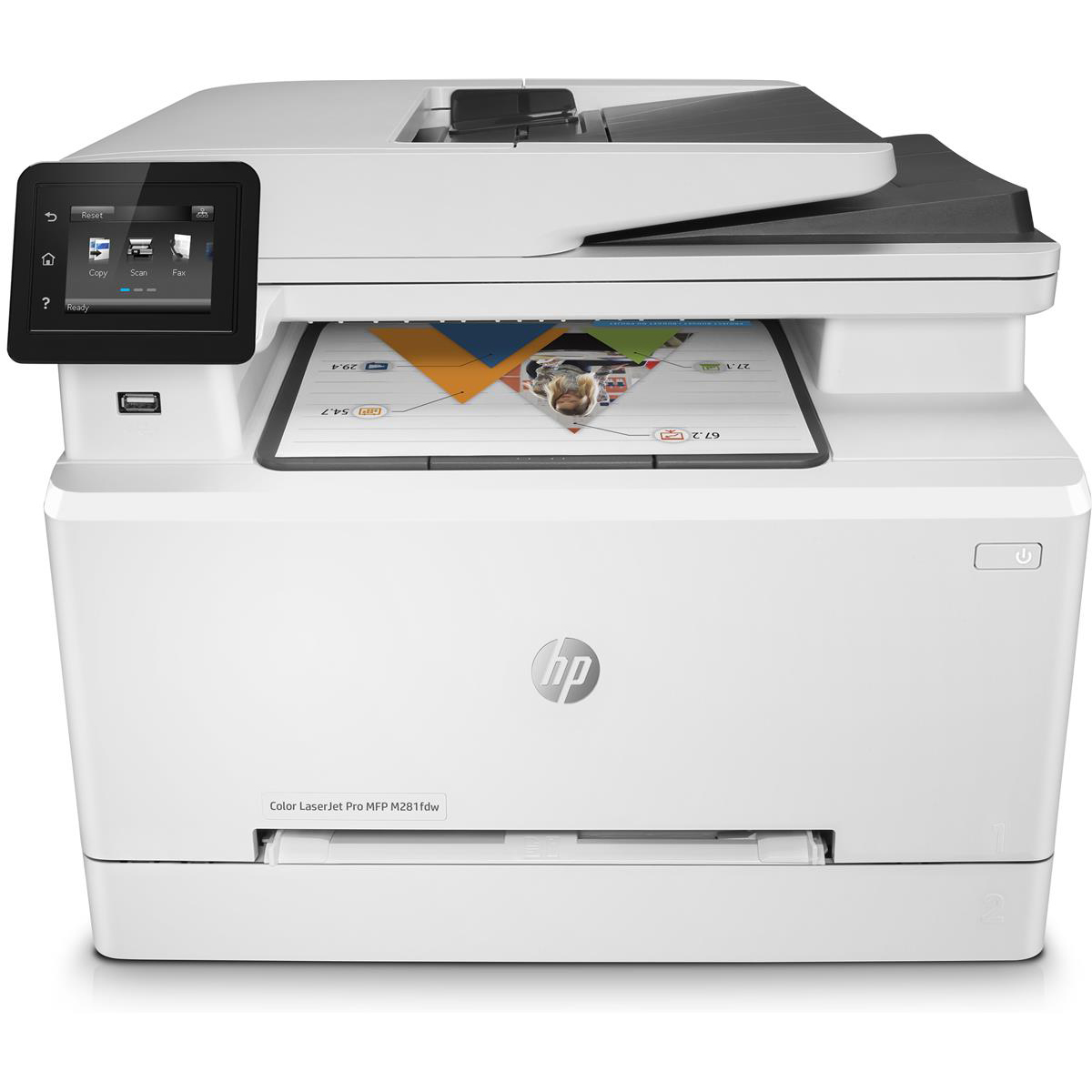 HP Color Pro M281FDW Multifunction Inkjet A4 Printer with Wi-Fi Ref T6B82A#B19