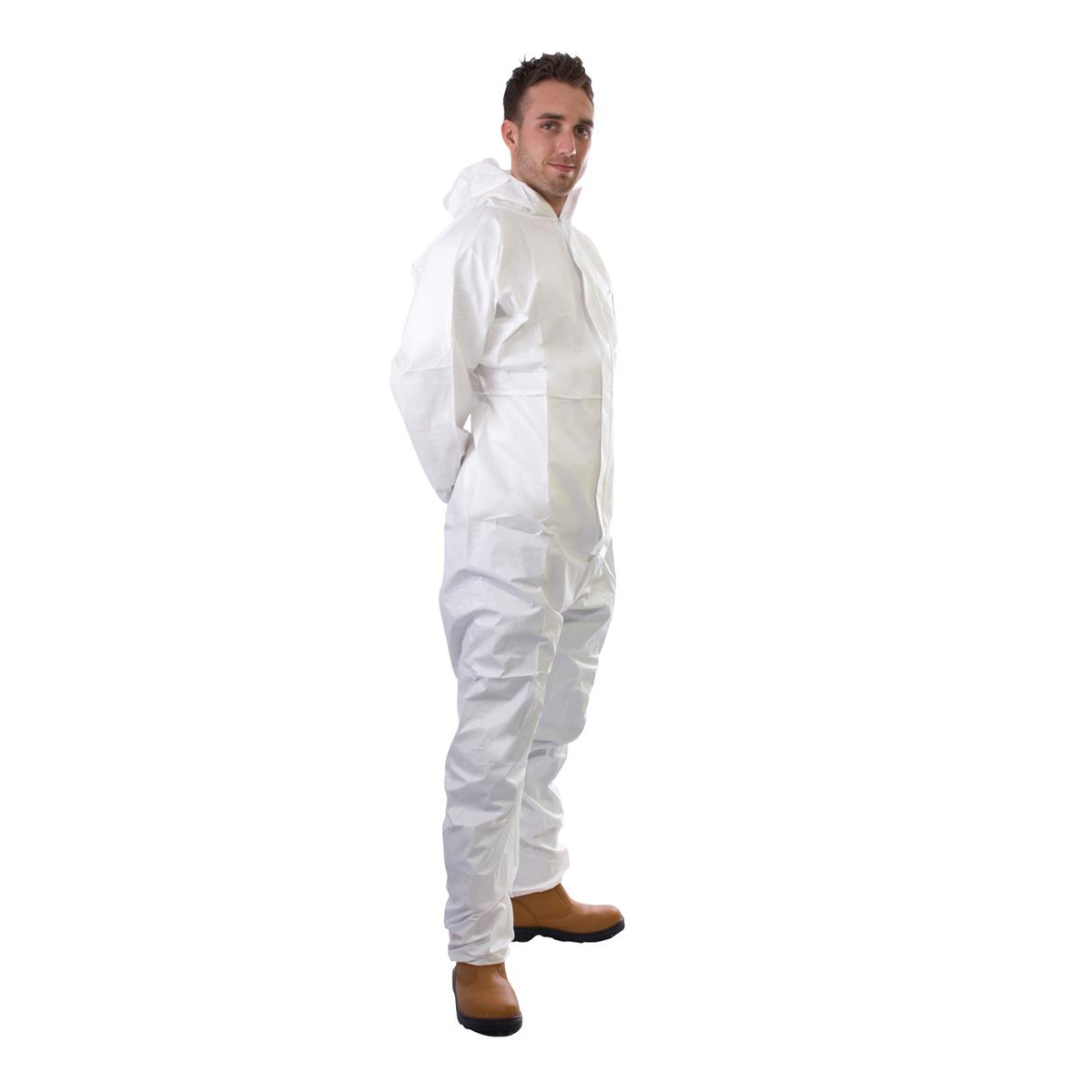 Supertouch Supertex Plus Coverall Type 5/6 Protection Small White Ref 17901 *Approx 3 Day Leadtime*
