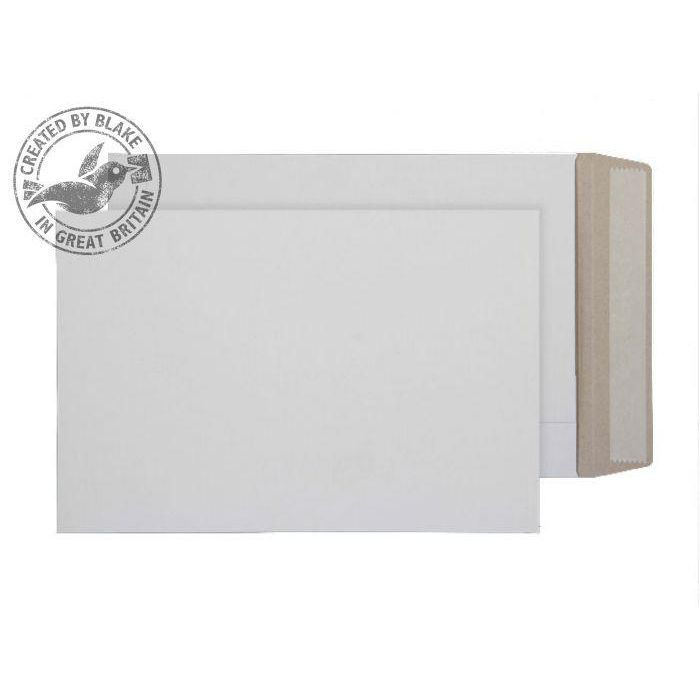 Board Backed Envelopes Purely Packaging Envelope All Board P&S 350gsm 324x229mm White Ref PPA9 Pk 100 *10 Day Leadtime*