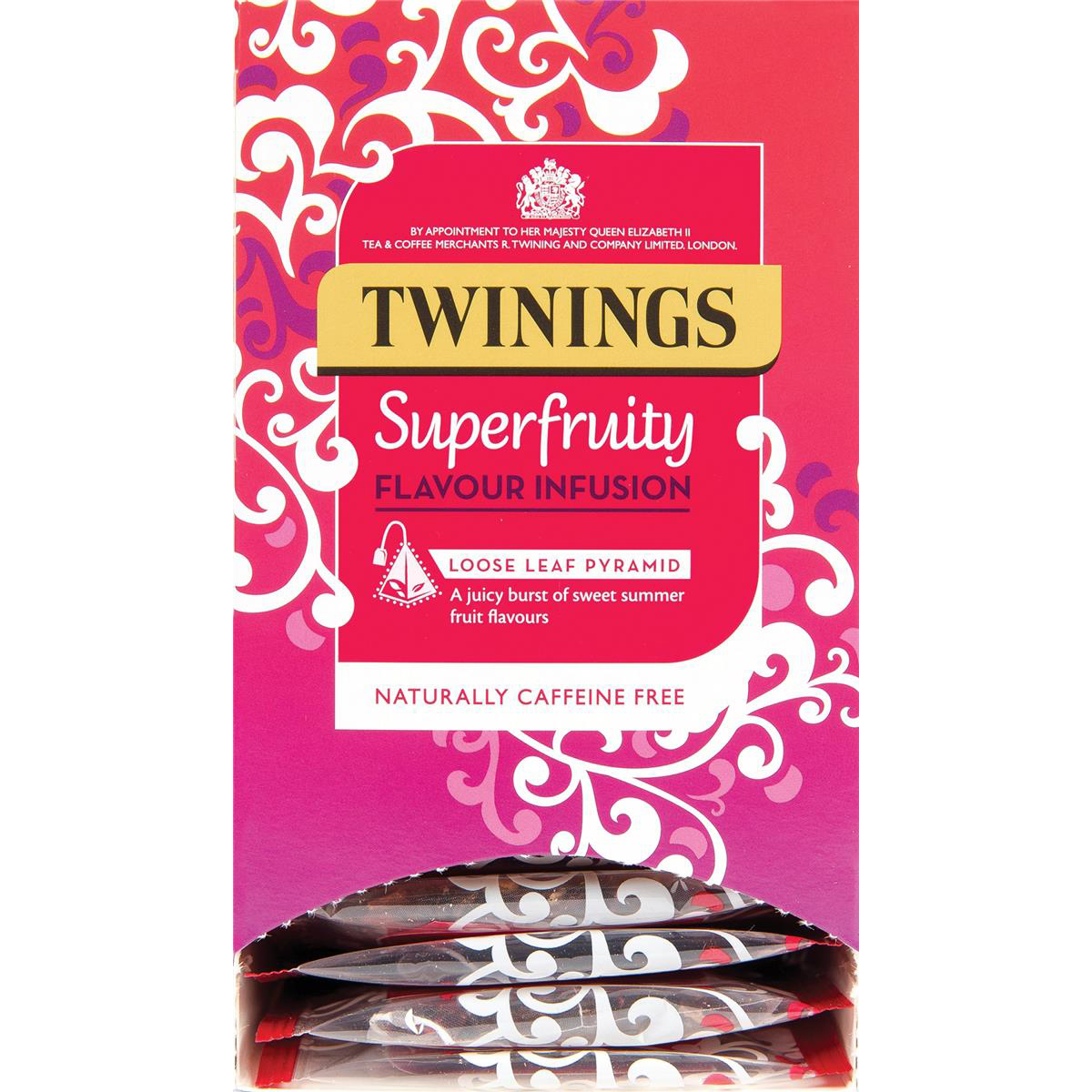 Twinings Teabags Pure Variety Pyramid Pack 6 Varieties Ref F12656 15 Bags per box