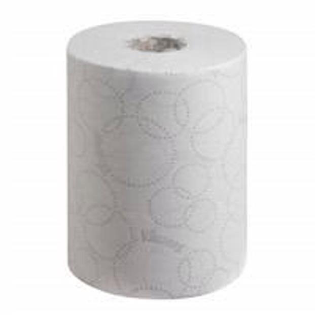 Hand towels Scott Slimroll 6781 Ultra Hand Towel Roll 198mmx100m 2-Ply White Ref 6781 [Pack 6]