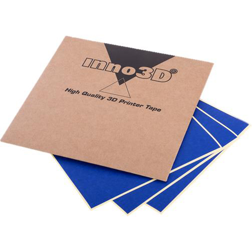 Inno 3D Print Support Tape 100x100mm Ref 3DP-SPLV-B012 [Pack 10]