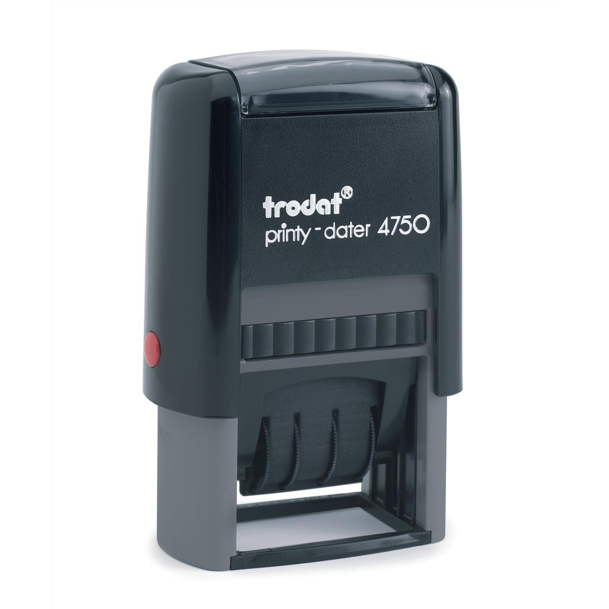 Trodat Printy 4750/L1 Dater Stamp Self-Inking Word/Date Received in Blue Date in Red Ref 139922