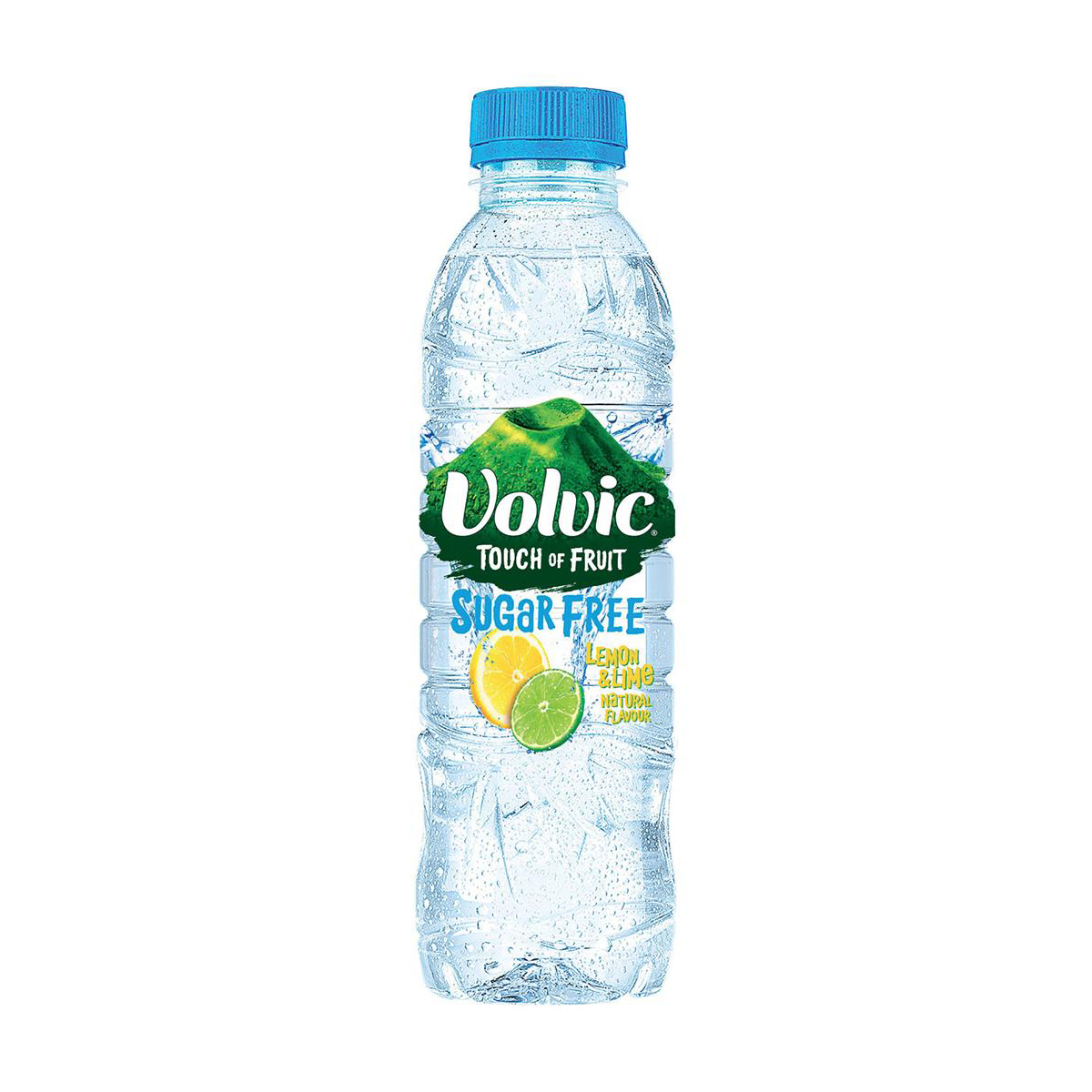 Volvic Touch of Fruit Water Sugar Free Still Bottle Lemon & Lime 500ml Ref 122441 Pack 12
