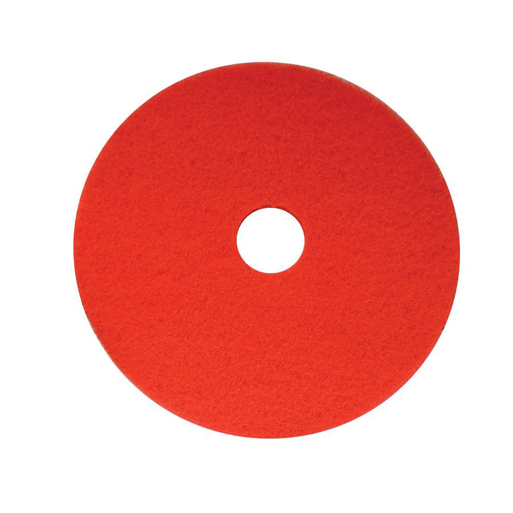 Maxima Floor Polish Pads 17inch Red Ref 0701001 Pack 5