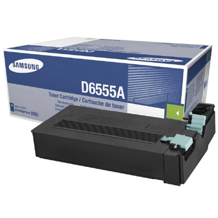 Laser Toner Cartridges Samsung SCX-D6555A Laser Toner Cartridge Page Life 25000pp Black Ref SV208A