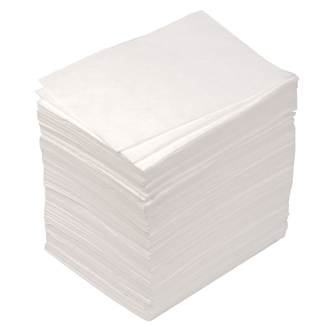 JSP Chemical Cleaning Pads Oil Only Pad Absorbent Meltblown Polypropylene Ref PJQ002-500-000 [Pack 100]