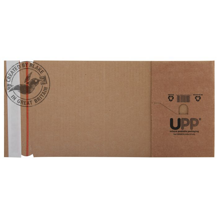 Blake Purely Packaging Wrap Around Carton P&S B-Flute 302x215x80mm Ref BWMA4 [Pk25] *10 Day Leadtime*