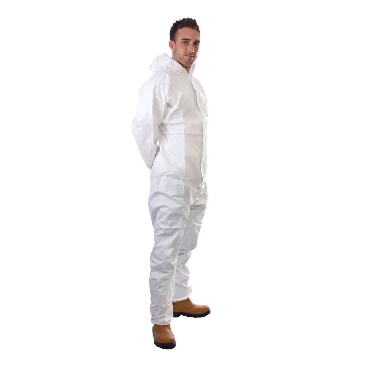 Supertouch Supertex Plus Coverall Type 5/6 Protection XXLarge White Ref 17905 *Approx 3 Day Leadtime*