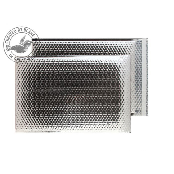 Purely Packaging Padded Envelope P&S C3 Metallic Silver Ref MBS450 [Pk 50] *10 Day Leadtime*