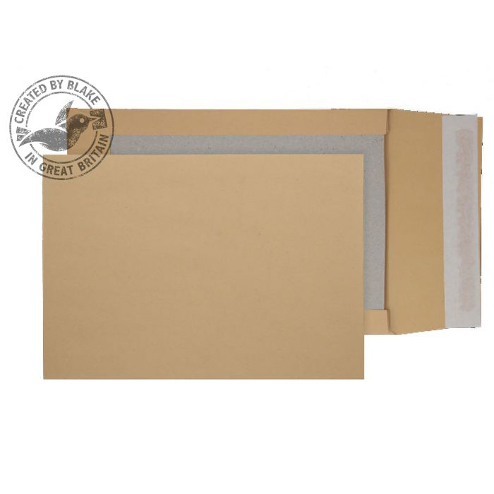Purely Packaging Envelope Board Backed Gusset P&S C4 Manilla Ref 93935M Pk 125 *10 Day Leadtime*