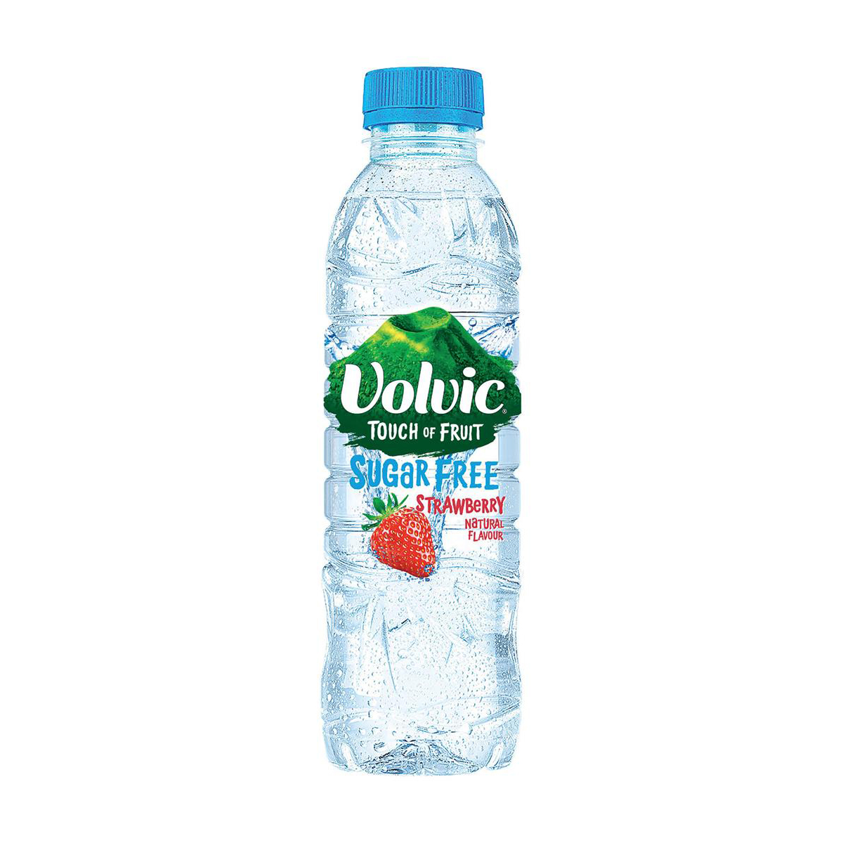 Volvic Touch of Fruit Water Sugar Free Still Bottle Strawberry 500ml Ref 122440 Pack 12