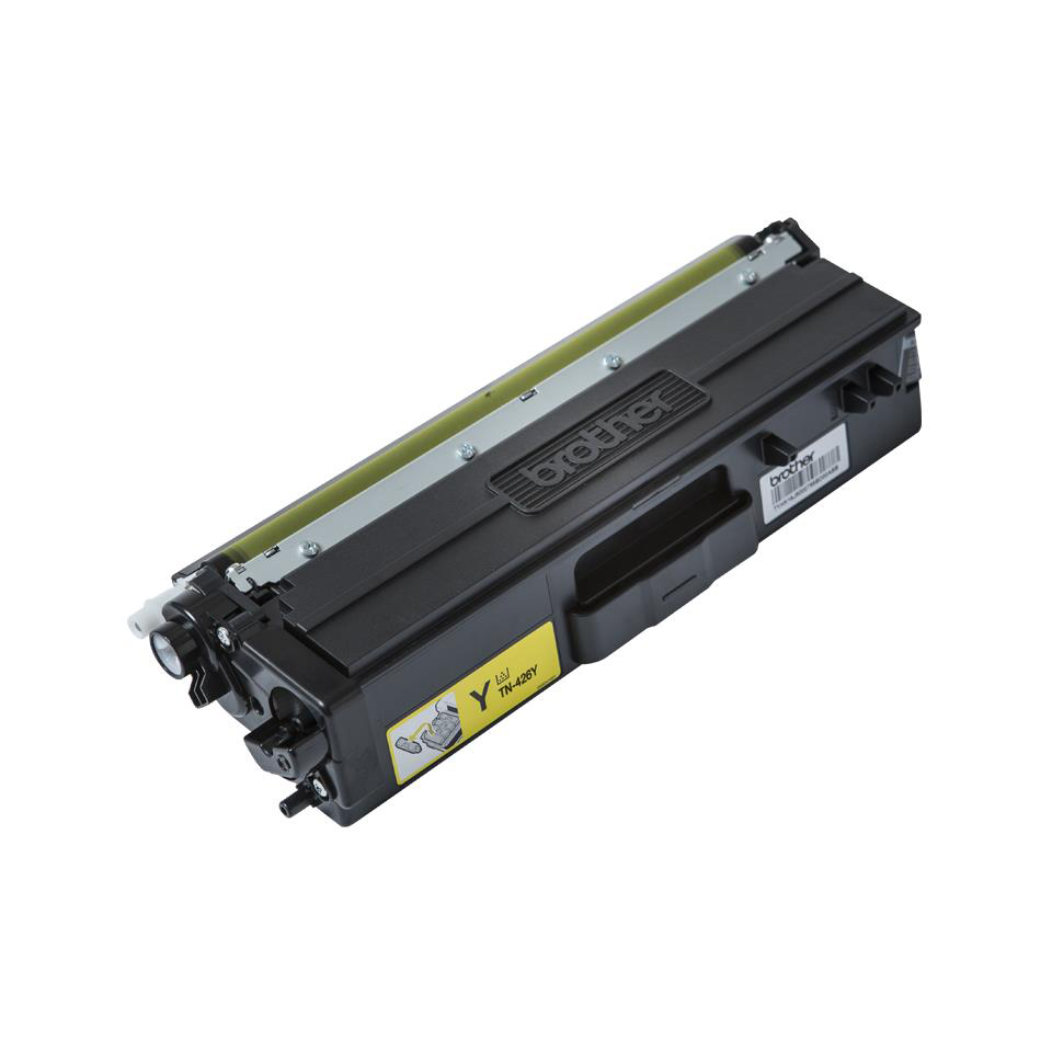 Brother TN426Y Laser Toner Cartridge Super High Yield Page Life 6500pp Yellow Ref TN426Y