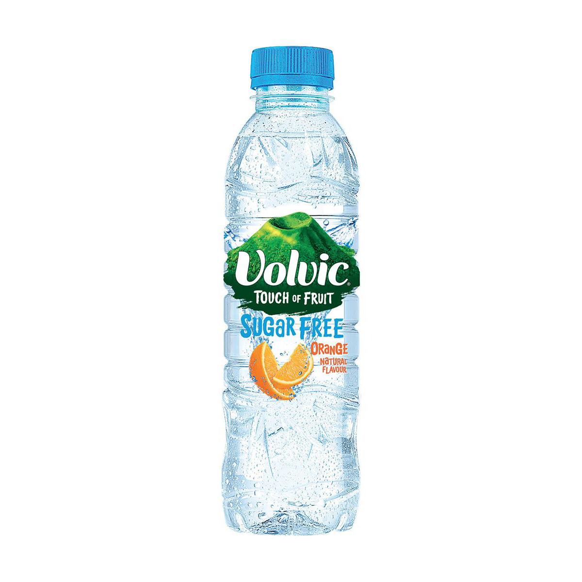 Volvic Touch of Fruit Water Sugar Free Still Orange 500ml Ref 122439 [Pack 12]