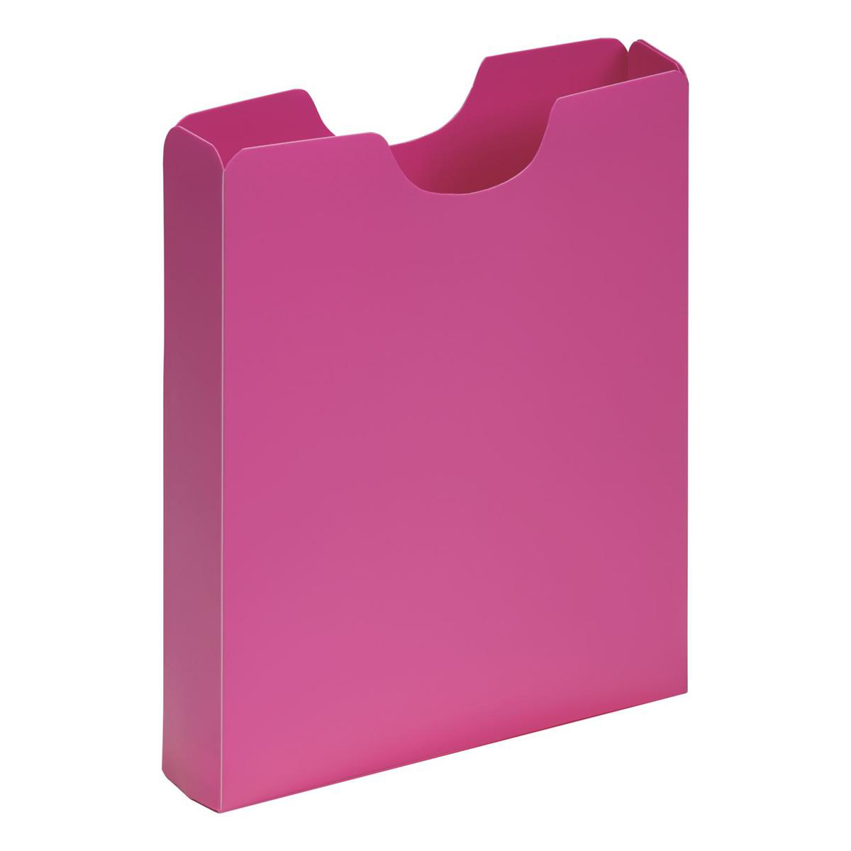Pagna Carry Case Polypropylene A4 Dark Pink Ref 2100534 [Pack 10]
