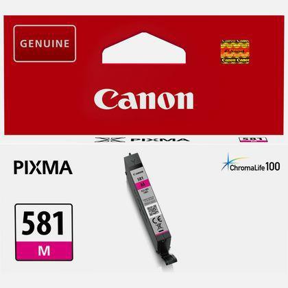 Canon CLI-581 Inkjet Cartridge 5.6ml Page Life 259pp Magenta Ref 2104C001