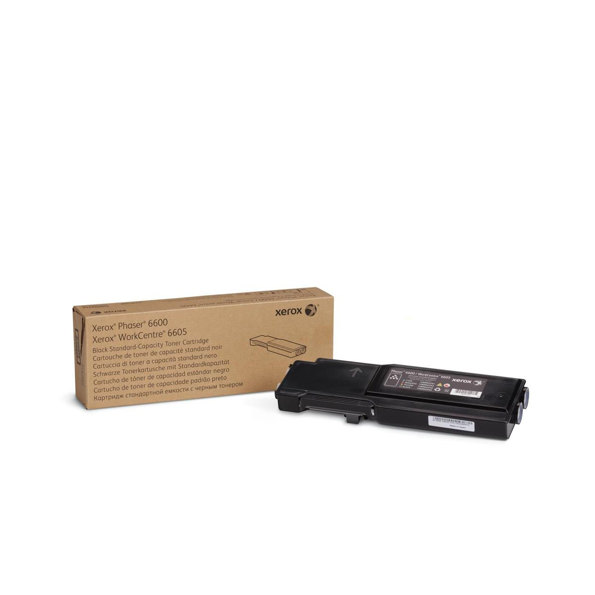 Laser Toner Cartridges Xerox Phaser 6600 Laser Toner Cartridge Page Life 3000pp Black Ref 106R02248