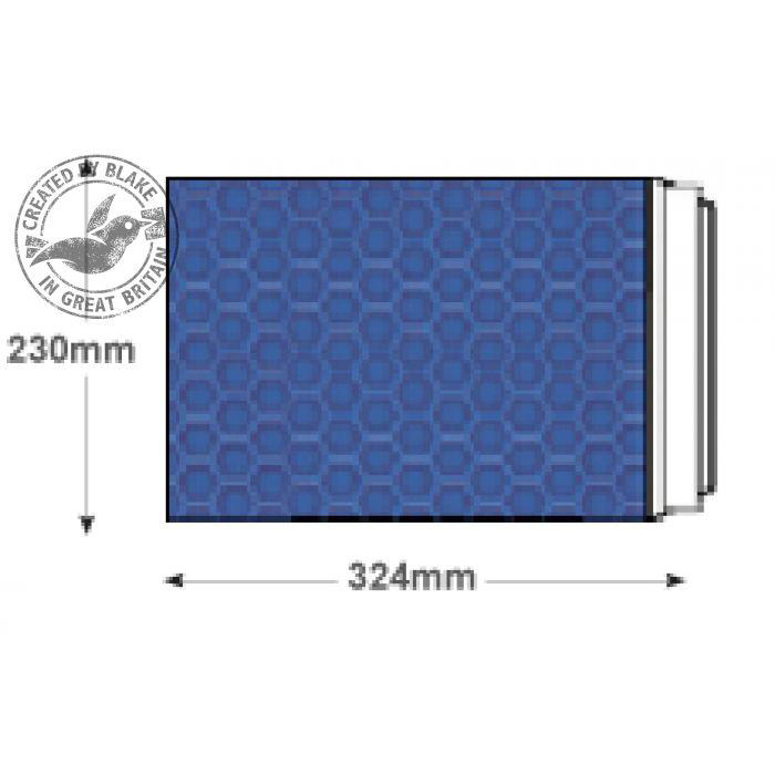 Purely Packaging Envelope P&S C4+ 324x230mm Padded Met Blue Ref MBBLU324 [Pk 100] 10 Day Leadtime
