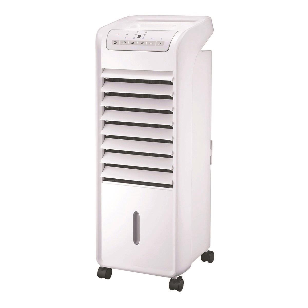 Image for Air Cooler Portable with Oscillation Function Timer Remote Control White
