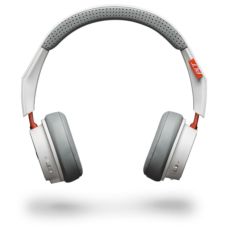 Plantronics BackBeat 500 Bluetooth Earphones White/Orange Ref 207840-01